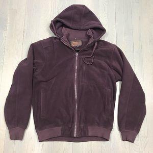 Hawke & Co. Outfitters Vegan Fur Hoodie Sweatshirt
